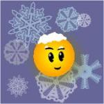 Image of Visio Guy with snow on head