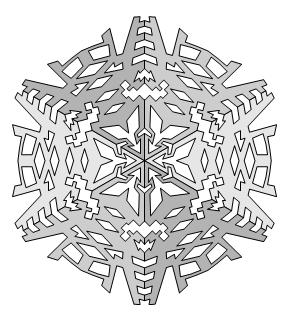 Three Thirds of a Snowflake