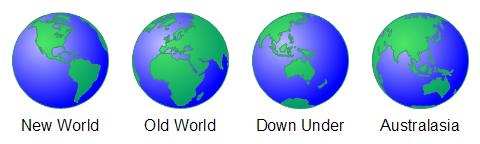 Multi-Earth Shape Views
