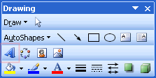 Office Drawing Toolbar
