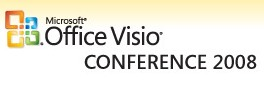 MS Visio Conference 2008 Logo
