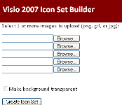 Visio 2007 Icon Set Builder