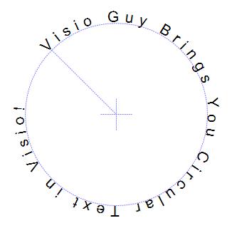 Circular Text Generator Output