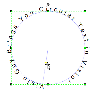 Circular Text Generator User Interface