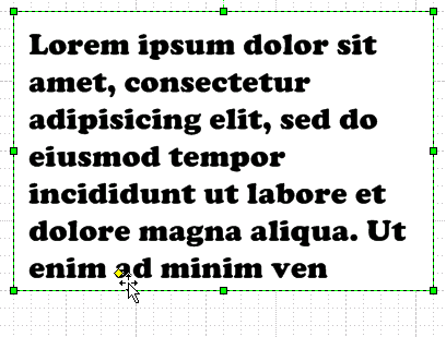 Text Placeholder Shape - After Tweaking