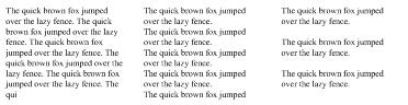 Text Placeholder Shape - Paragraph Options