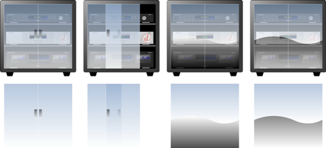 How to Draw Glass in Visio - Cabinets