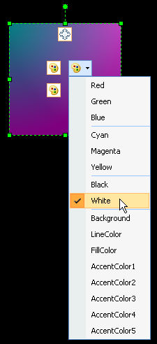 How Many Fill Colors - Color Options
