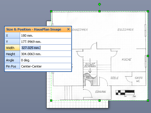 Importing images as backgrounds for scaled drawings visio guy pulling malvernweather Choice Image