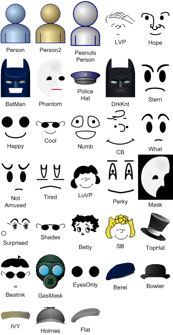 Visio Guy » Add Personality to Your Visio Drawings With People Faces