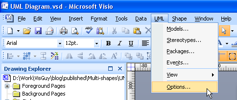 Visio multi shapes visio guy double clicking ccuart Image collections