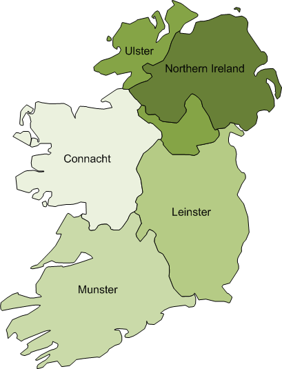 Map Of Ireland Leinster.Map Of Ireland Visio Guy