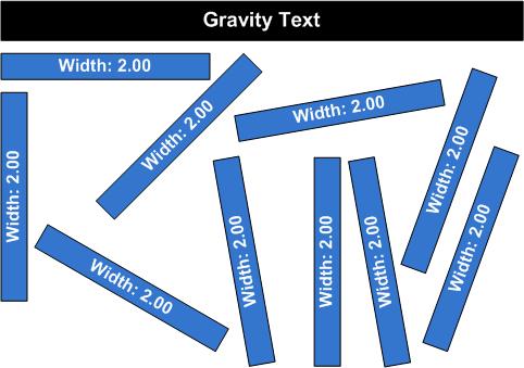 gravity-text