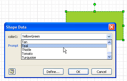 Worksheets List Of Images Shapes And The Names visio guy choose colors with shape data fields color names drop down