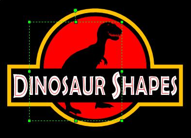 jurassic-dinosaur-shapes-logo