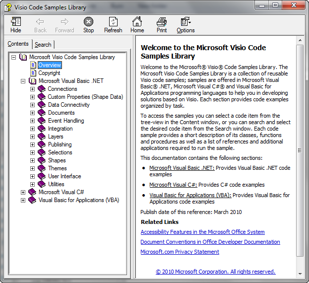 Download the New Visio 2010 SDK! – Visio Guy