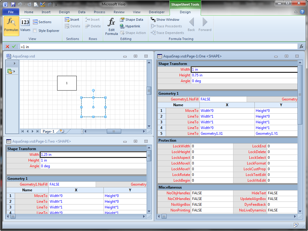Take Control of Visio Window Arrangement with AquaSnap