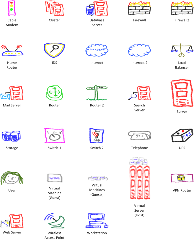 visio network stencils - Download Visio Templates