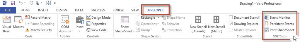 visio-developer-ribbon-tab