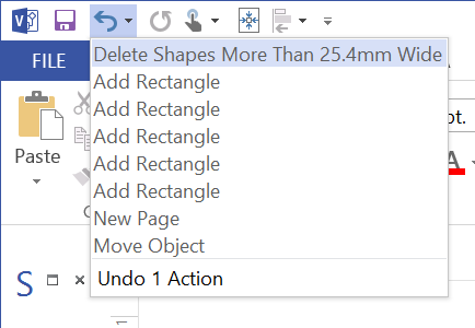 Deleting Visio Shapes Programmatically
