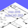 AutoCAD 2013 + Visio 2016 + Webcast July 12