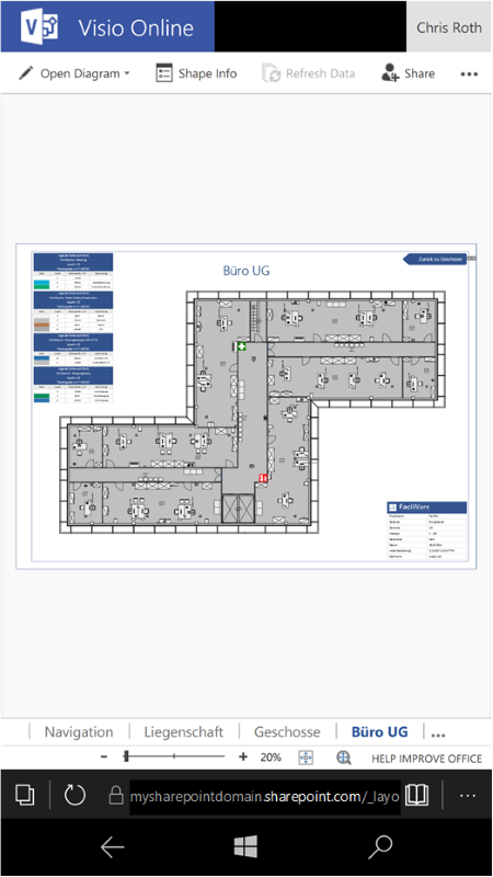 View Visio Files On Android (and Windows Phone)