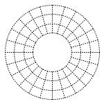 Visio Radial Grid